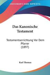 Das Kanonische Testament
