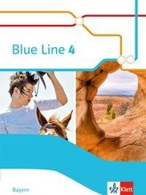 Blue Line 4 R-Zug. Schülerbuch (Hardcover) Klasse 8. Ausgabe Bayern