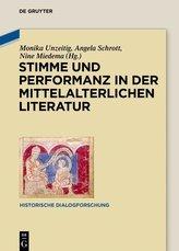 Stimme und Performanz in der mittelalterlichen Literatur