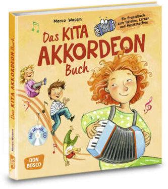 Das Kita-Akkordeon-Buch, m. Audio-CD