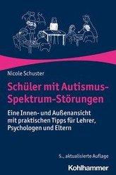 Schüler mit Autismus-Spektrum-Störungen
