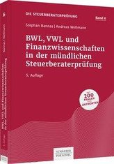 BWL, VWL und Finanzwissenschaften in der mündlichen Steuerberaterprüfung