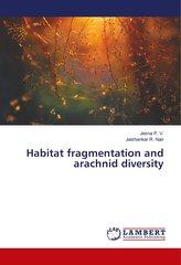 Habitat fragmentation and arachnid diversity