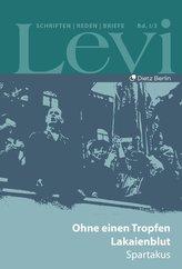Levi - Gesammelte Schriften, Reden und Briefe 1 /3