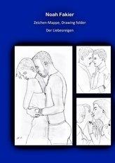 Zeichen Mappe, Drawing folder Der Liebesreigen