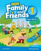 Family and Friends (2nd Edition) 1 Course Book with MultiROM Pack
