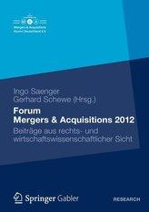 Forum Mergers & Acquisitions 2012