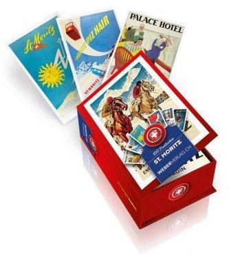 St. Moritz, Postkartenbox