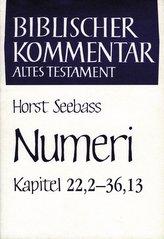 Numeri (Kapitel 22,2-36,13)
