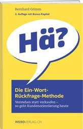 Die Ein-Wort-Ru¨ckfrage-Methode