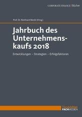 Jahrbuch des Unternehmenskaufs 2018