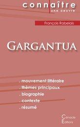 Fiche de lecture Gargantua de François Rabelais (analyse littéraire de référence et résumé complet)