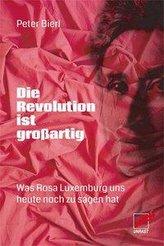Die Revolution ist großartig
