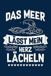 ...Lässt Mein Herz Lächeln: Notizbuch / Notizheft Für Meer Deko Kostüm Ozean Party Strand Insel A5 (6x9in) Dotted Punktraster