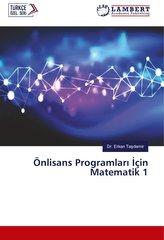 Önlisans Programlari Için Matematik 1