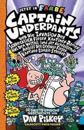 Captain Underpants Band 3 - Captain Underpants und die Invasion der schrecklich fiesen Kantinen-Damen