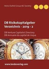 DB Risikokapitalgeber Verzeichnis  - 2019  - 2