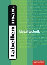 tabellen max. Metalltechnik