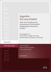Regiolekt - Der neue Dialekt?