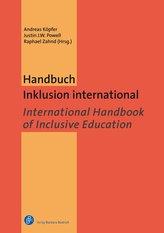 Handbuch Inklusion international / International Handbook of Inclusive Education