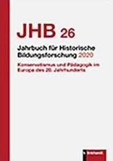 Jahrbuch für Historische Bildungsforschung Band 26 (2020)
