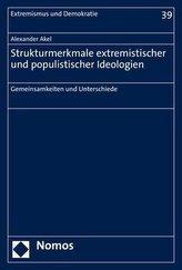 Strukturmerkmale extremistischer und populistischer Ideologien