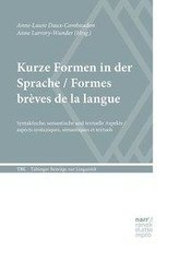 Kurze Formen in der Sprache / Formes brèves de la langue