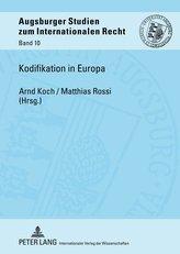 Kodifikation in Europa