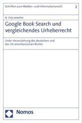 Google Book Search und vergleichendes Urheberrecht