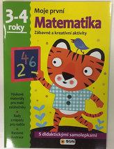 Moje první matematika 3-4 roky - s didaktickými samolepkami