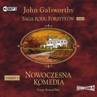Saga rodu Forsyte\'ów T.4 Nowoczesna... cz.1 CD