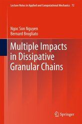 Multiple Impacts in Dissipative Granular Chains