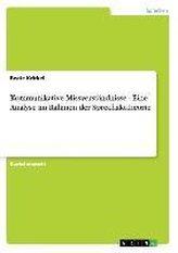 Kommunikative Missverständnisse - Eine Analyse im Rahmen der Sprechakttheorie