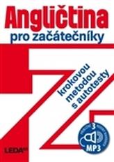 Angličtina pro začátečníky krokovou metodou,3.vyd.+1CD-MP3
