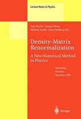 Density-Matrix Renormalization - A New Numerical Method in Physics