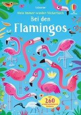 Mein Immer-wieder-Stickerbuch: Bei den Flamingos