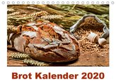Brot Kalender 2020 (Tischkalender 2020 DIN A5 quer)