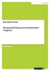 Buchpreisbindung im internationalen Vergleich