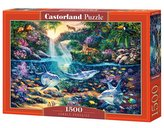 Puzzle 1500 Rajska Dżungla CASTOR