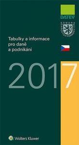 Tabulky a informace pro daně a podnikání 2017