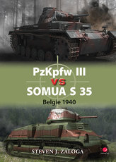 PzKpfw III vs Somua S 35 - Belgie 1940