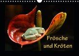 Fr?sche und Kr?ten (Wandkalender 2019 DIN A4 quer)