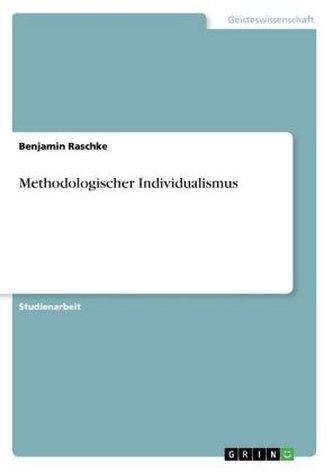 Methodologischer Individualismus