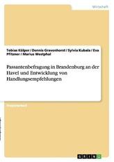 Passantenbefragung in Brandenburg an der Havel und Entwicklung von Handlungsempfehlungen
