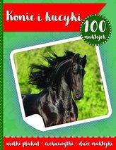 100 naklejek. Konie i kucyki w.2