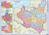 Plansza edukacyjna - Mapa Polski historyczna