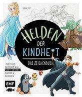 Helden der Kindheit - Das Zeichenbuch