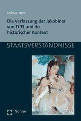 Die Verfassung der Jakobiner von 1793 und ihr historischer Kontext