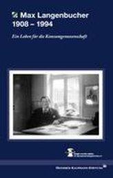 Max Langenbucher 1908 - 1994