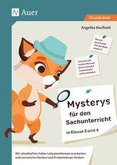 Mysterys für den Sachunterricht in Klasse 3 und 4